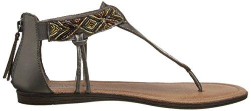 Minnetonka Antigua Damen Zehentrenner Silber (Pewter / PWT)