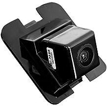 Navinio Telecamera per retromarcia a colori Telecamera di assistenza al parcheggio per illuminazione targa, luce targa per C E S GLK Class 300/350/S400/S500/S600/X204/ W204/ S204/ W212/ W221/ W216