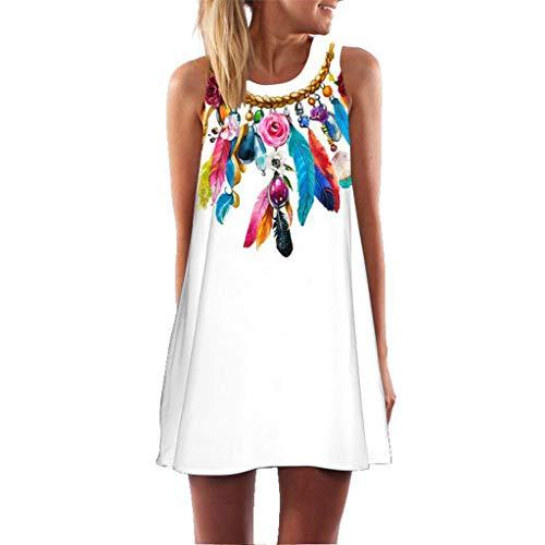 MRULIC Freizeitkleider Damen Mini A-Linie Kleider Elegant Partykleider Chinesisches Klassisches Kleid mit Rosen und Pflaumenblüten - A-linie Mini