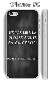 Coque Citation tableau-3 pour Apple iphone 5C