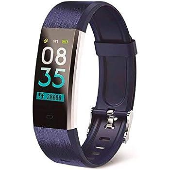 Muvit I/O Health Tensio Lite - Pulsera de Actividad y sueño, Color Azul