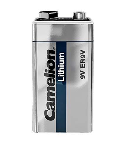 Camelion 19100122 Batterie Lithium (er9 V 9 V, 1200 mAh, 1er)