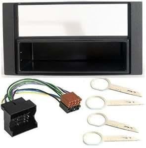 PA Kit d'installation d'autoradio avec câble adaptateur et clés pour Ford Fiesta Transit/Connect 06ON