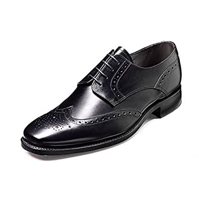 Barker , Richelieu homme - Noir - Black Calf, 6 UK / 40 EU