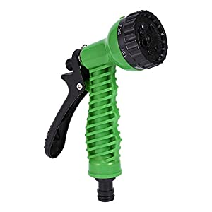 HOKIPO 7 Pattern High Pressure Garden Hose Nozzle Water Spray Gun