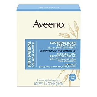 Aveeno Fragrance Free Soothing Bath Treatment 8-Count (Kuren)