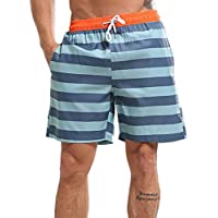 Luckycat Bañador de Natación Boxer para Hombre, Hombre Bañador Traje de Baño Pantalones Cortos Playa Piscina, con cordón Ajustable Dentro y Bolsillos