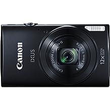 Canon IXUS 170 Digitalkamera (20 Megapixel, 12-fach optisch, Zoom, 24-fach ZoomPlus, opt. Bildstabilisator, 6,8 cm (2,7 Zoll) LCD-Display, HD-Movie 720p) schwarz