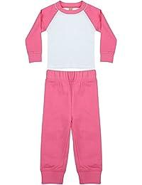 Larkwood - Conjunto de pijama unisex para bebé