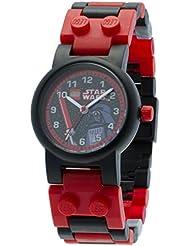 Lego - 9002908 - Star Wars Darth Vader - Coffret Cadeau - Montre Enfant - Quartz Analogique - Bracelet Plastique + Figurine