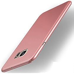 Coque Samsung Galaxy S7 Ultra Slim Légère Case Adamark Anti-Scratch Thin Protection Housse Bumper Récurer PC Rigide Étui Back Shell Pour Samsung Galaxy S7 (rose gold)