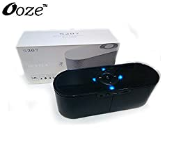 Ooze s207 portable bluetooth speaker high quality with fm / tf card black