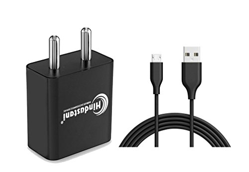 A2Z Shop Charger Adapter 2 Ampere Mobile Fast Wall Travel Battery Power USB Andriod Smartphones Charger with Micro USB Data Charger Cable for HP Pre3 CDMA (2A Black White)