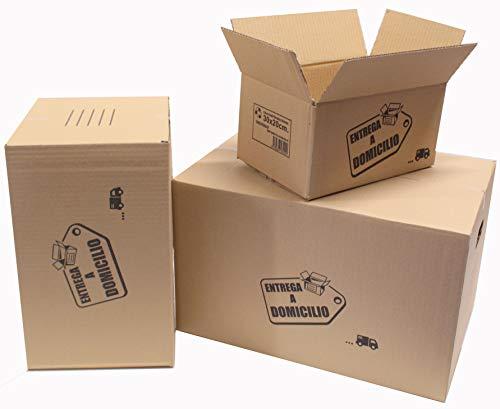 Chely Intermarket cajas carton mudanza 30x20x15 cmPack-20unids