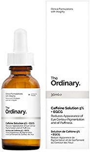 The Ordinary Caffeine Solution 5% + EGCG (30ml) Reduces Eye Puffiness and Dark Circles