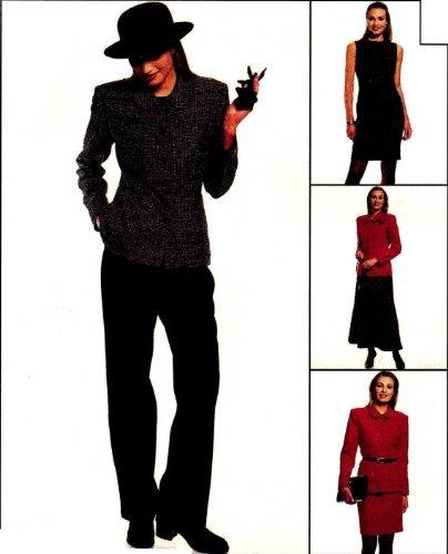 Patrón de costura para chaqueta de mujer (tallas vestido pantalones falda McCall