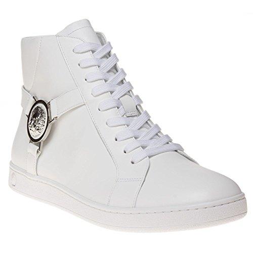 Versus Lion Hi-Top Ii Uomo Sneaker Bianco