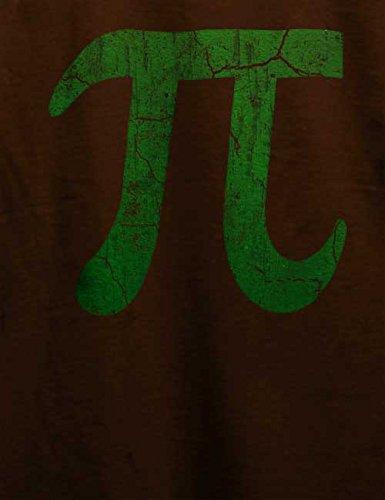 Pi Vintage T-Shirt Braun