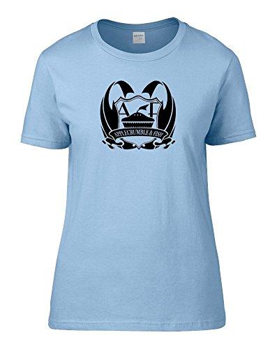 FatCuckoo -  T-shirt - Colletto crew  - Maniche corte - Donna Light Blue XX-Large