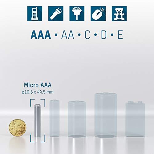 Ansmann NiMH Micro AAA Akku (Typ 1100mAh) - 3