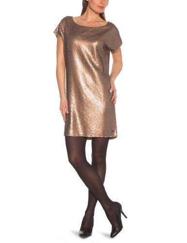 Tom Tailor Sequins - Robe - Femme Dull Gold