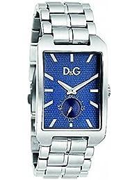 D&G Dolce&Gabbana Herren-Armbanduhr Analog Quarz Edelstahl DW0638