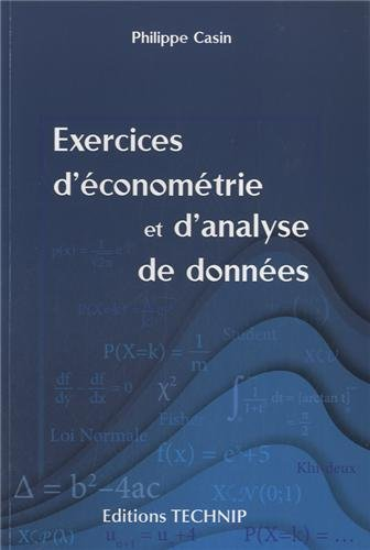 Exercices d Econometrie et Analyse de Do...