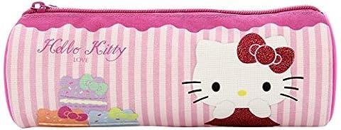 Hallo Kitty Macaroon Fass Bleistift Tasche