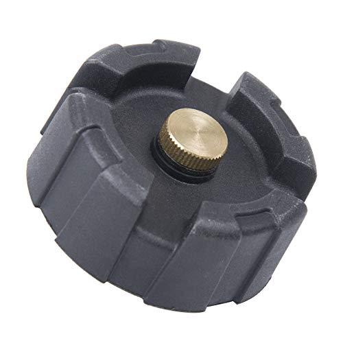 LIOOBO Tankdeckel Dekorative Universal Abdeckung für Auto Boot Außenborder 12L 24L (Grau) -
