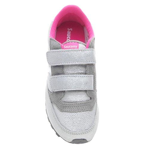 SAUCONY SC55557 JAZZ DBLE HL blau Junge Junge Schuhe Grigio/Bianco/Rosa