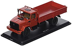 Start Scale Models ssm1048-zil-4331camión de Tipo Flatbed-Rojo Oscuro
