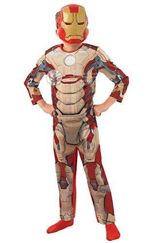 Iron Man 3 Deluxe - Kinder-KostŸm - Klein - (Deluxe Iron Man Kostüm)