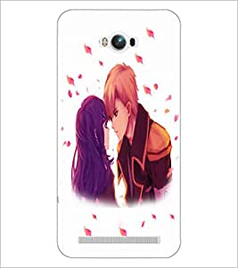 PrintDhaba Couple D-4700 Back Case Cover for ASUS ZENFONE MAX ZC550KL (Multi-Coloured)