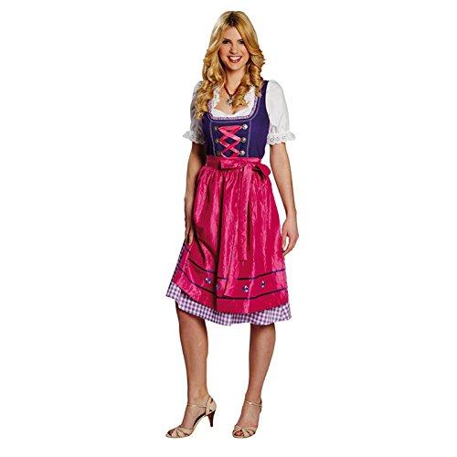 Kostüm Dirndl Gr. 36 - 46 Fasching Karneval Damen Tracht Kleid Oktoberfest (44)