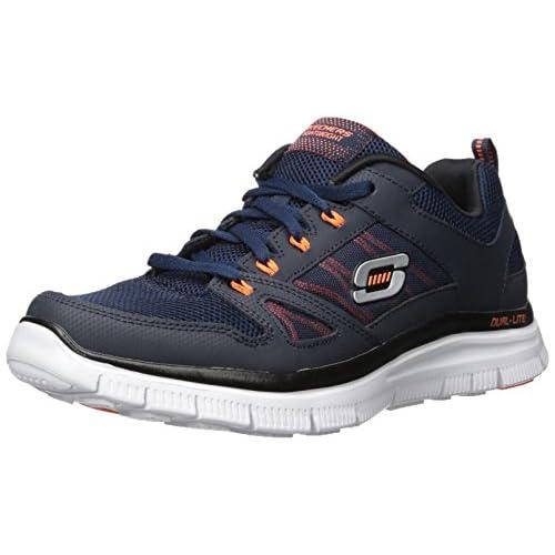 41kRTjHFj9L. SS500  - Skechers Flex Advantage Men's Low-Top Sneakers