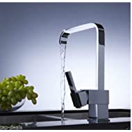 MASCARELLO® Modern Square Victoria Chrome Kitchen Sink / Bathroom Basin Mixer Tap