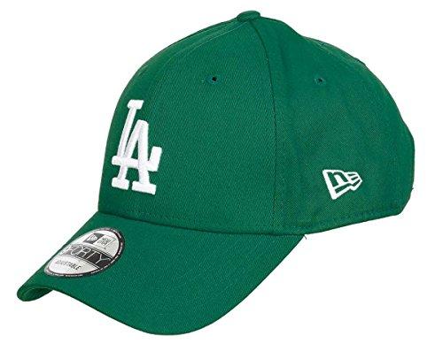 New Era Los Angeles Dodgers New Era 9forty Cap In Teal Grün Mit Weißem Frontstick - One-Size