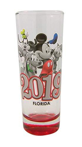 Disney 2019 Mickey and Friends Group Schnapsglas, 10,2 cm - Mickeys Bier