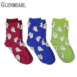 LILIKI@ 5 Paare/Los Baumwolle Frauen Socken Set Marke Frühling Herbst Mode Qualität Nette Schwarz Grau Kompression Weibliche Crew Socken Strumpfwaren