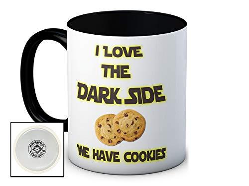 I Love the Dark Side We Have Cookies - Humoristique Haute Qualité Café Thé Mug