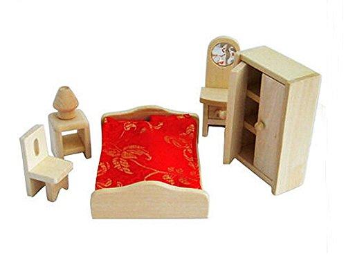 Lovely House Jouets Kids Play Jouets Jeux en bois Assemblage Jouets Meubles