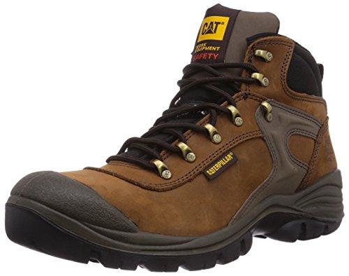 Scruffs Assault Hiker SBP - Calzado de protección para hombre, color Brown, talla 44