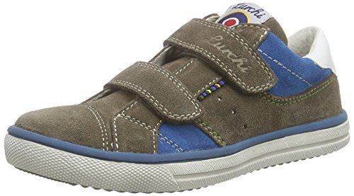Lurchi Sorby, Jungen Sneakers, Braun (Taupe 27), 35 EU