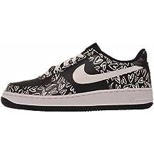 Zapatillas Nike – Air Force 1 Print (Gs) negro/blanco/rosa