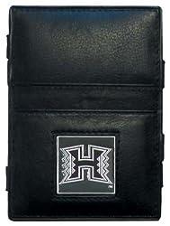 NCAA Hawaii Warriors Leather Jacob's Ladder Wallet