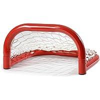 Base–Portería para Street Hockey Plegable, Incluye Red de poliéster, Deportes y Tiempo Libre, Primavera/Verano, Color Multicolor, tamaño Medium