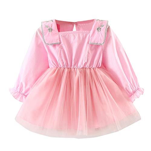 Vestito principessa bambina,per fiore ragazze set moda cerimonia carnevale compleanno comunione halloween sera pageant costume di abiti per ricamato feste elegante tutu floreale qinsling