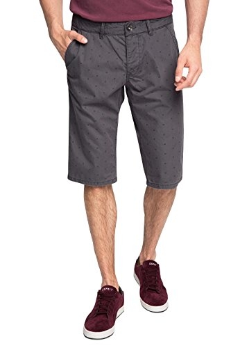0a1ca14e5d74 edc by ESPRIT Herren Shorts Grau DARK GREY 020