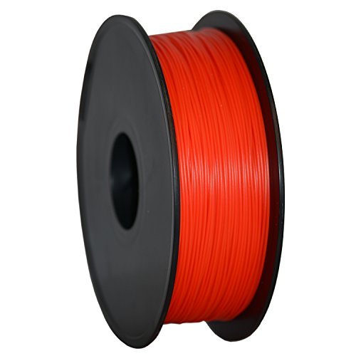 GEEETECH Filament PLA 1.75mm for 3D Drucker 1kg Spool, Rote