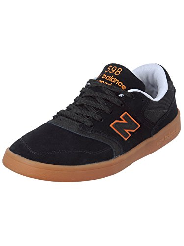 New Balance Numeric Nm598bmg 598 Black Orange Gum BMG black